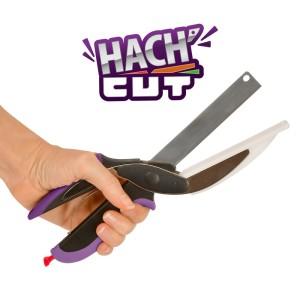 Couteau hachoir 2-en-1 avec planche Hach'cut